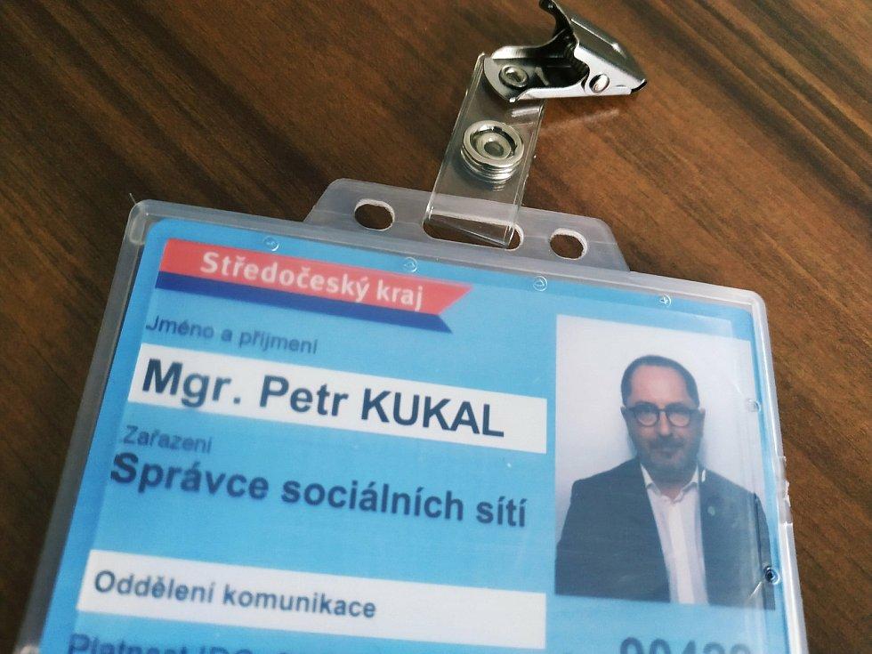 Sociální sítě středočeského hejtmanství bude mít na starosti Petr Kukal.