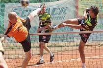 Z finále pohárového turnaje mezi Šacungem Benešov a Čelákovicemi.