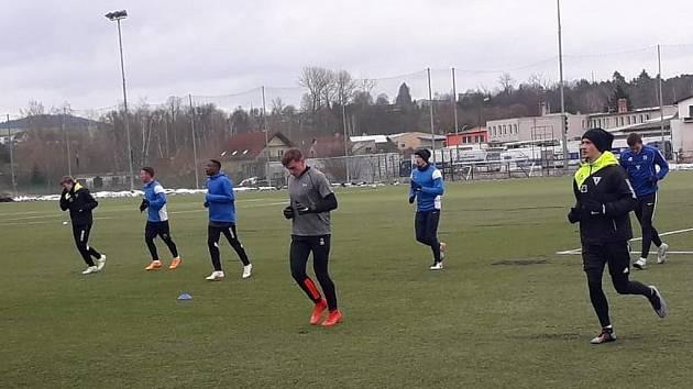 Fotbalisté Vlašimi zahájili zimní přípravu v neděli 6. ledna 2019.