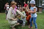Tábor prožili společně děti i rodiče.