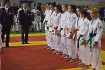 Starší žákyně Benešova skončily na MČR v judu čtvrté.