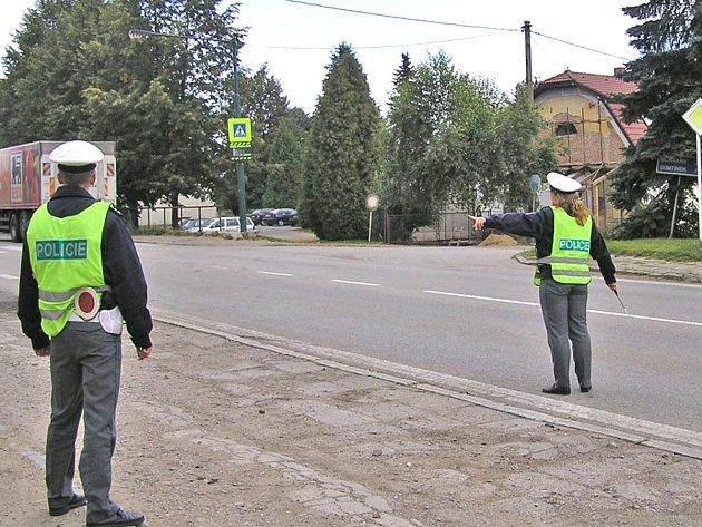 Loupežné přepadení uprostřed Olbramovic se stalo v pátek 15. února mezi 13.28 a 13.35. Ilustrační foto.