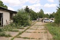 Táborská kasárna v Benešově.