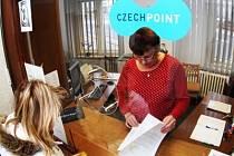 Ilustrační foto: Systém Czech Point funguje i v hlavní budově benešovské radnice