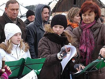 Vánoční setkání v Nespekách.