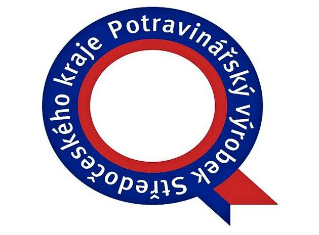 Logo soutěže Potravinářský výrobek Středočeského kraje.