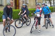 Desátý ročník Podblanického cyklorytíře startoval v Kondraci.