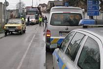 Letos se první dopravní nehoda s úmrtím stala přímo v Benešově v Hodějovského ulici.