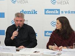 Deník s vámi - Setkání s hejtmankou Jaroslavou Pokornou Jermanovou. Informační centrum Středočeského kraje 29.listopadu.