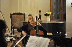 Sametovou revoluci si v Sázavě připomněli v klášteře hudbou.