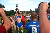 Myslič neskutečným závěrem a pevnějšími nervy při penaltách nakonec brala vítězství v okresním poháru mužů.