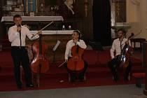 Načeradecké hudební léto začalo. Letošní slavnosti zahájili úspěšní čeští violoncellisté Prague Cello Quartet.