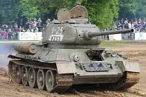 Tankový den ve VTM Lešany.