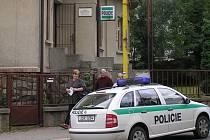 Chycený pachatel strávil dopoledne státního svátku na policejní služebně.