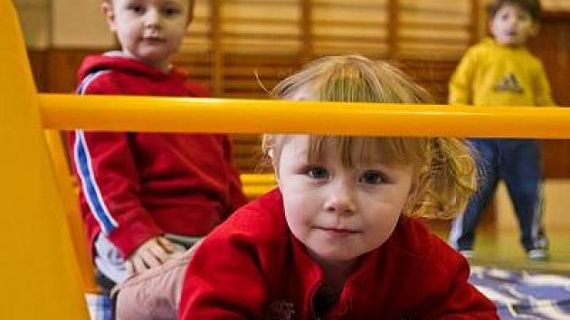 Děti z Mateřské centra Hvězdička mají zase kde cvičit