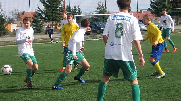 Sedmnáctka Benešova vyhrála s Olympií Hradec 3:0.