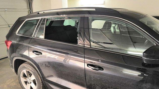 Střelba na auta