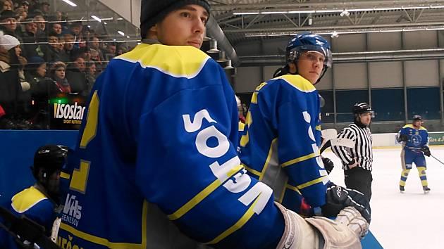 Hokejové derby Vlašim - Benešov 5:3.