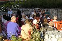 V čerčanském hospicu se konají pravidelně také koncerty.