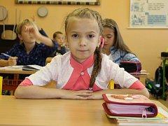 Karolína Zemanová zvítězila s obrázkem čápa bílého.