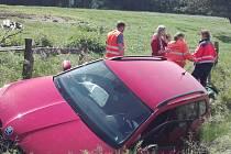 Dopravní nehoda na silnici I/3 u Oldřichovce v pátek 12. června 2020.