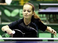 Kristýna Pěnkavová je jednou ze tří děvčat z Vlašimi v juniorské reprezentaci.