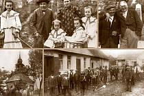 Fotografie na obalu knihy Mezi Vltavou a Sázavou.