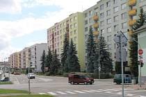 Nová pražská ulicie v Benešově a tamní bytové domy patří k těm, které mohou být privatizovány.