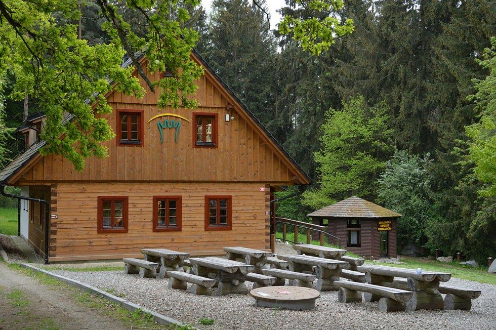 Dům přírody Blaníku v Krasovicích.