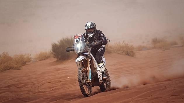 Libor Podmol v 10. etapě Dakaru 2021