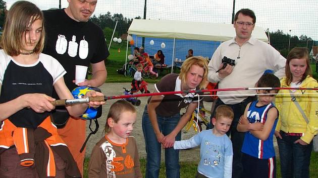 Den dětí v Peceradech.