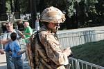Tankový den v Lešanech se v sobotu 29. srpna konal letos po třinácté.