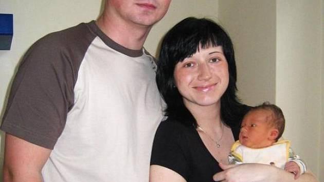 David se narodil 26. ledna po deváté hodině Janě Teutschové a Josefovi Jurčíkovi z Votic. Po porodu vážil 3,7 kg a měřil 50 cm.