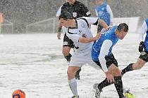 Na sněhu jako v Táborsku snad Vlašim hrát doma s Ústím nebude, alespoň to meteorologové nehlásí.