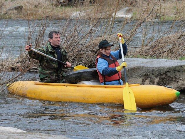Akce Čistá řeka Sázava měla ve dnech 12. až 14. dubna 2013 již své osmé pokračování.