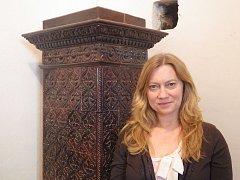 Helena Nohejlová, vedoucí návštěvnického provozu zámku Konopiště.