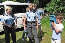Benešovské policejní tiskové mluvčí Zuzana Stránská a Diana Škvorová.