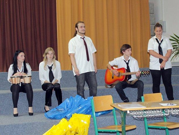 Talentová soutěž se odehraje v aule základní školy 18. února. Děti se mohou přihlašovat v informačním centru do 11. února.