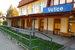 Votické nádraží.