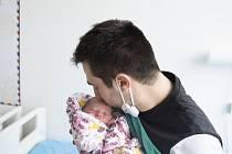 Ella Křivánková se narodila v nymburské porodnici 22. února 2021 v 8.15 hodin s váhou 2800 g a mírou 46 cm. V Milovicích bude prvorozená holčička vyrůstat s maminkou Adélou a tatínkem Pavlem.