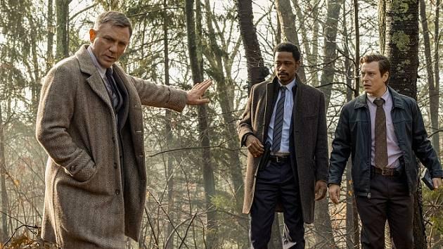 Daniel Craig v komedii Na nože
