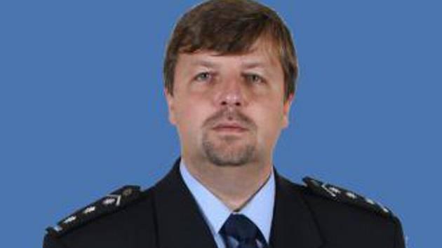 Ředitel Policie ČR Benešov Pavel Havránek.