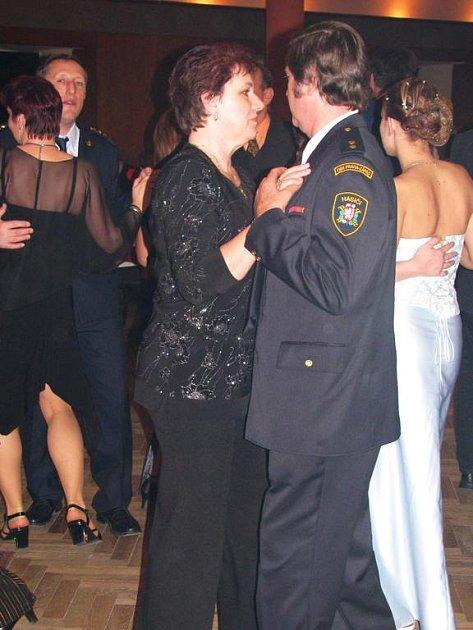 Týnec, reprezentační ples hasičů