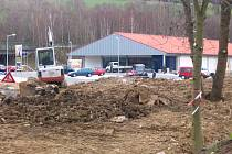 Zprovoznění kruhového objezdu i velkoprodejny Lidl ve Voticích je naplánované na čtvrtek 24. dubna