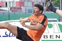 Bez stálého parťáka Kalase se Michalu Nepodalovi v utkání Šacungu s Modřicemi výsledkově nedařilo.