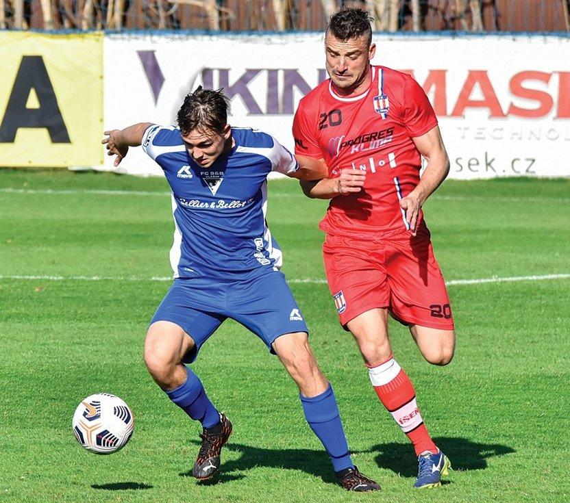 Ze zápasu FORTUNA:NÁRODNÍ LIGY mezi Vlašimí a Líšní, které skončilo vítězství domácích 2:1.