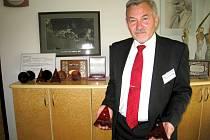 Ředitel RÚ Kladruby Josef Hendrych.