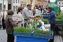 Farmářské trhy zahájily druhý rok své tradice.