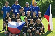 Zlatý tým SK Benešov na Mozart Trophy.