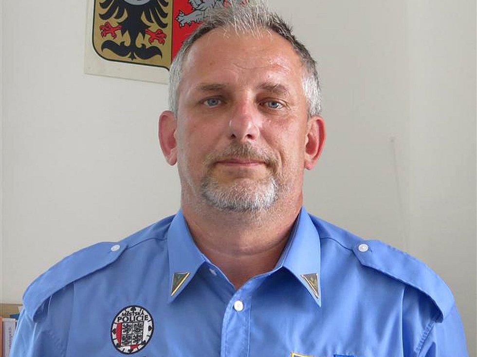 Radek Stulík, velitel Městské policie Benešov.